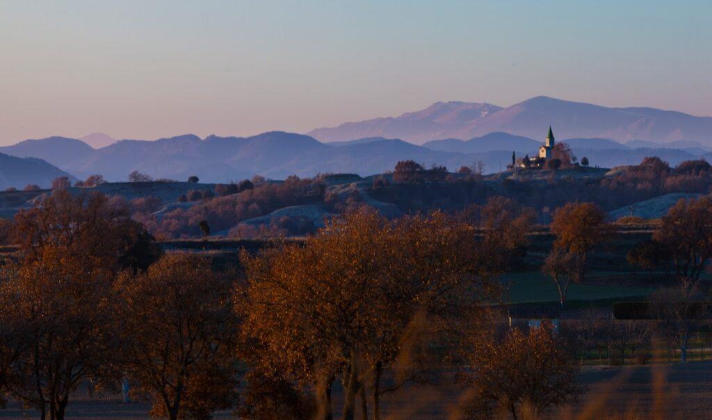 De Manlleu a l'ermita del Puigagut